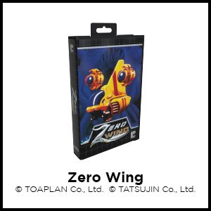 Zero Wing, SEGA Genesis, SEGA Mega Drive, Toaplan, Tatsujin