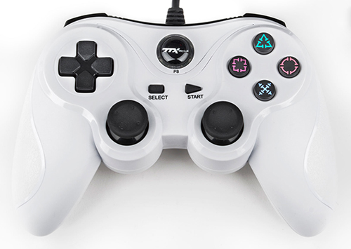 TTX Tech PS3 USB Controller (White)