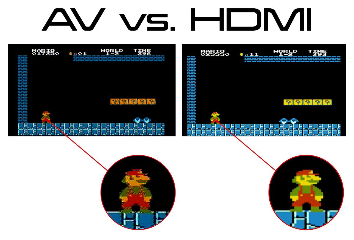 AV vs HDMI