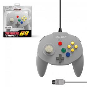 Tribute64 Controller N64® Port - Classic Grey