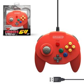 Tribute64 Controller - USB® Port - Red