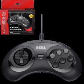 SEGA Genesis® 6-button Arcade Pad - Black
