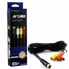Gold Plated AV Cable for Saturn®