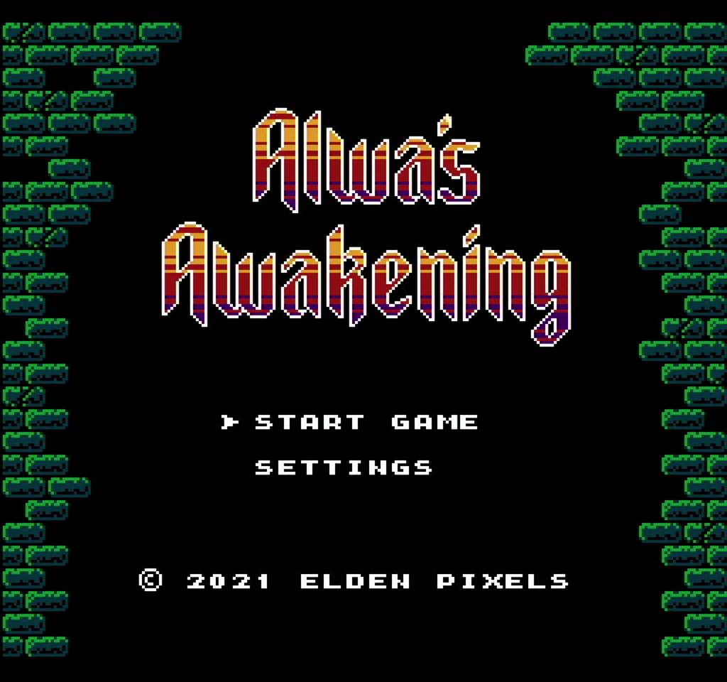Alwa's Awakening: The 8-Bit Edition - Gameplay 01