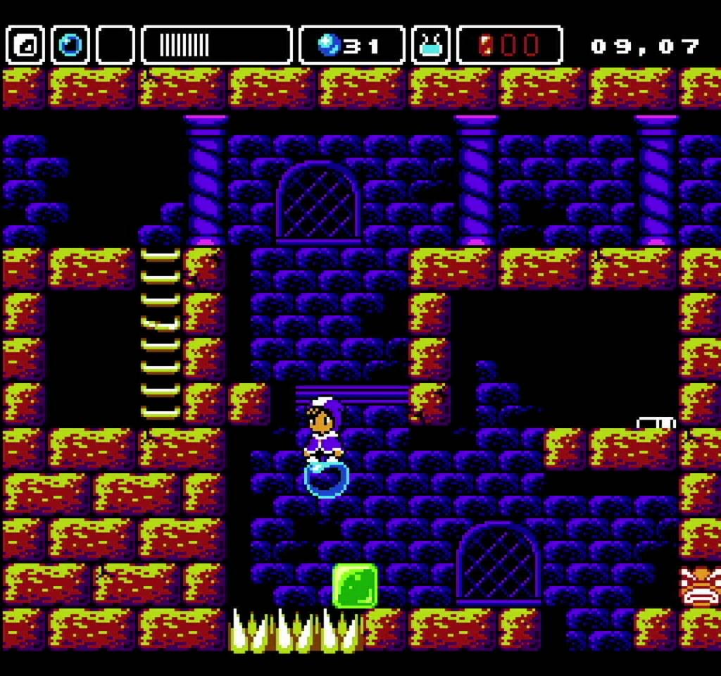 Alwa's Awakening: The 8-Bit Edition - Gameplay 02