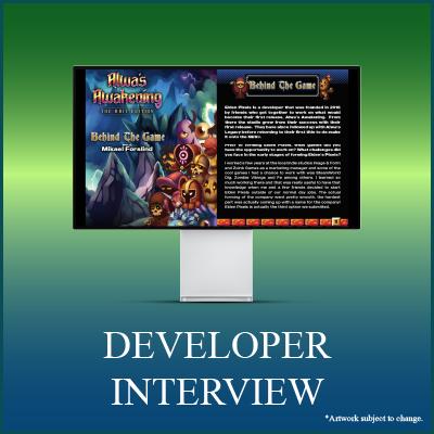 Alwa's Awakening: The 8-Bit Edition Digical - Interview