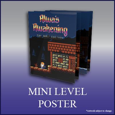 Alwa's Awakening: The 8-Bit Edition - Town of Westwood Poster