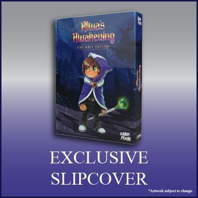 Alwa's Awakening: The 8-Bit Edition - Exclusive Slipcover