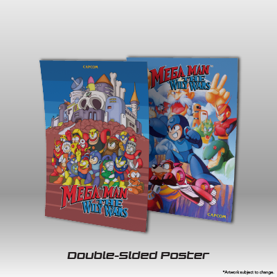 Mega Man: The Wily Wars CE - Double-sided Poster