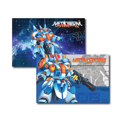 Metal Storm, Art prints, art cards
