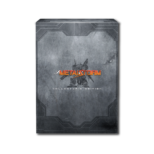 Metal Storm, Collector's Edition, Box, Embossed