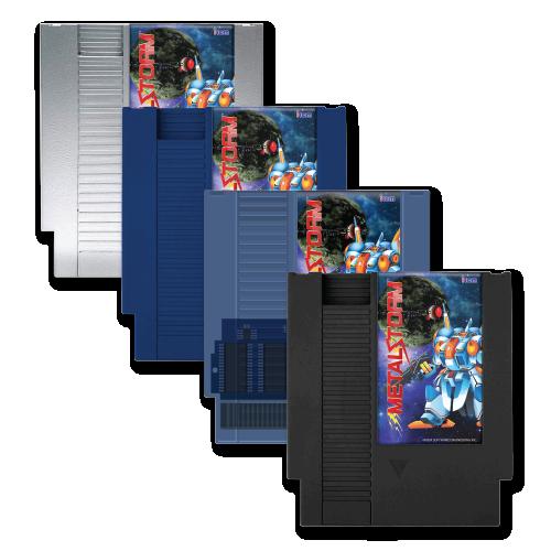 Metal Storm, Collector's Edition, NES, Irem, Retro-Bit, Castlemania, Limited Run Games, Retro-bit Europe, Standard