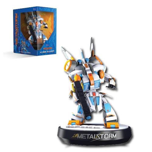 Metal Storm, M-308 Gunner, Mech, Figurine, Collector's Edition