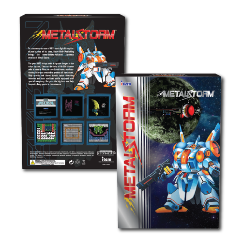 Metal Storm, Game box, retail box, Irem, Collector's Edition, Standard edition