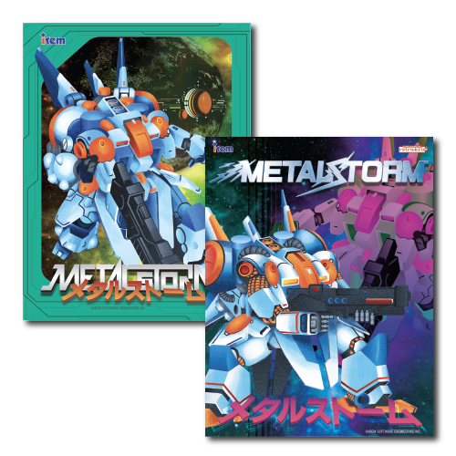 Metal Storm, 2-sided, Poster