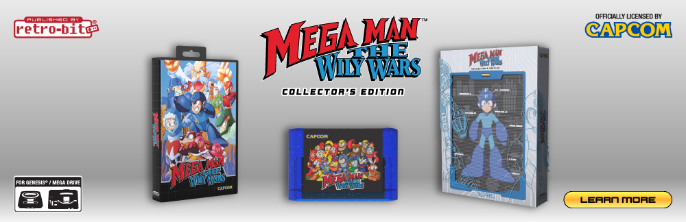 Mega Man: The Wily Wars Collector's Edition