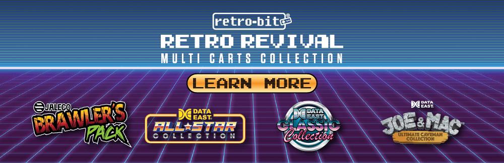 Retro Revival, NES, SNES, Multi-Cart, Data East, Jaleco