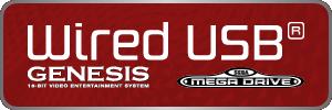 SEGA Genesis/Mega Drive - Wired USB Controllers