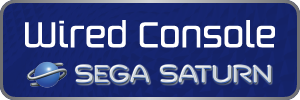 SEGA Saturn - Wired Console Controllers