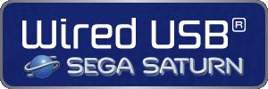 SEGA Saturn - Wired USB Controllers