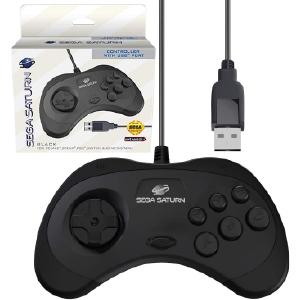 SEGA Saturn Control Pad - Model 2 - USB Port - Black