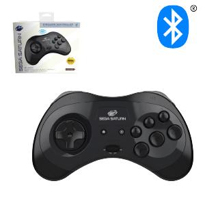SEGA Saturn Bluetooth Control Pad - Black