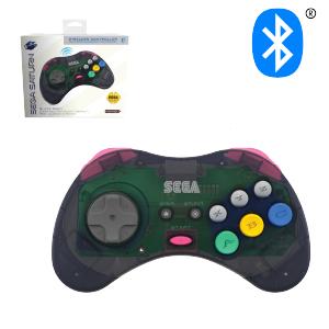SEGA Saturn Bluetooth Control Pad - Slate Gray