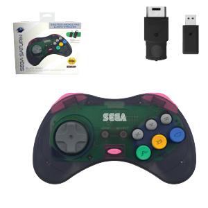 SEGA Saturn Control Pad - Model 2 - Wireless 2.4ghz - Slate Grey