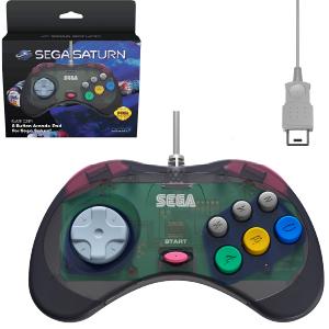 SEGA Saturn Control Pad - Model 2 - Original Port - Slate Grey (EU)