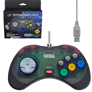 SEGA Saturn Cool Pad - Model 2 - USB Port - Slate Grey (EU)