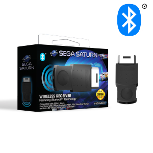 SEGA Saturn Bluetooth Receiver - Black (EU)