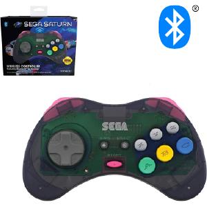 SEGA Saturn Bluetooth Control Pad - Slate Gray (EU)