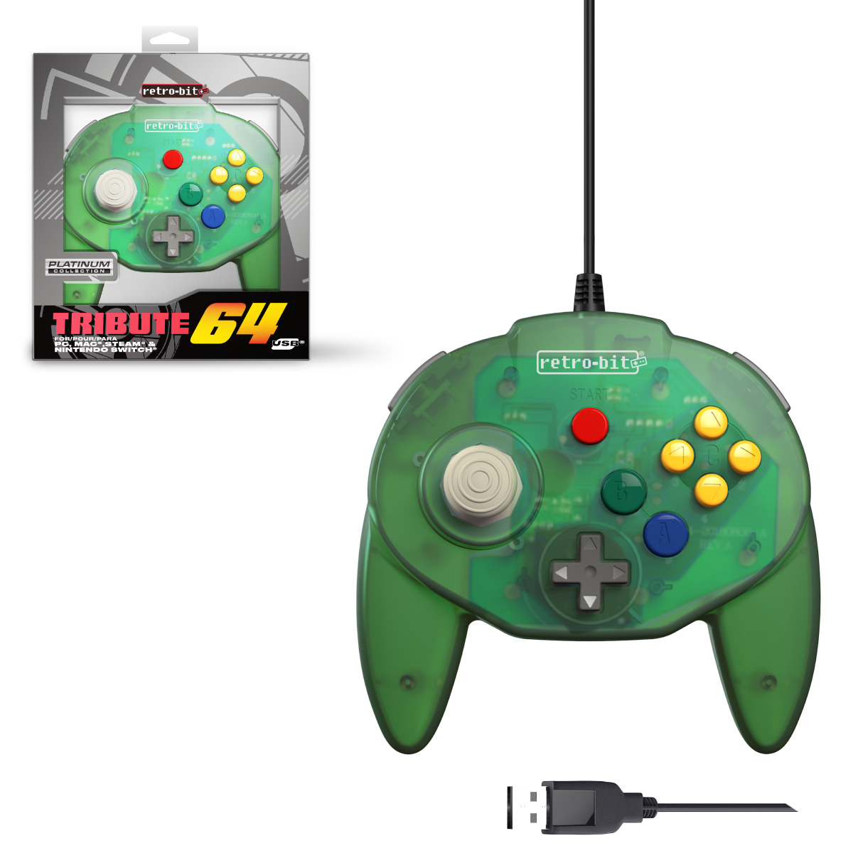 Tribute64 - Forest Green USB