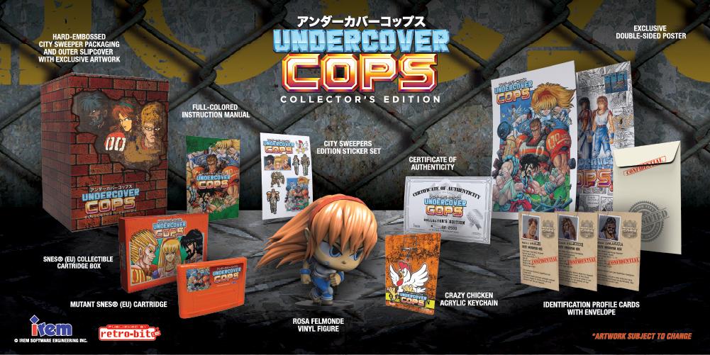 Undercover Cops - EU - Collector's Edition