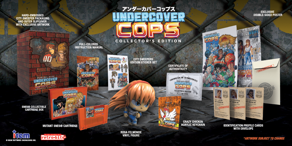 Undercover Cops - NA - Collector's Edition