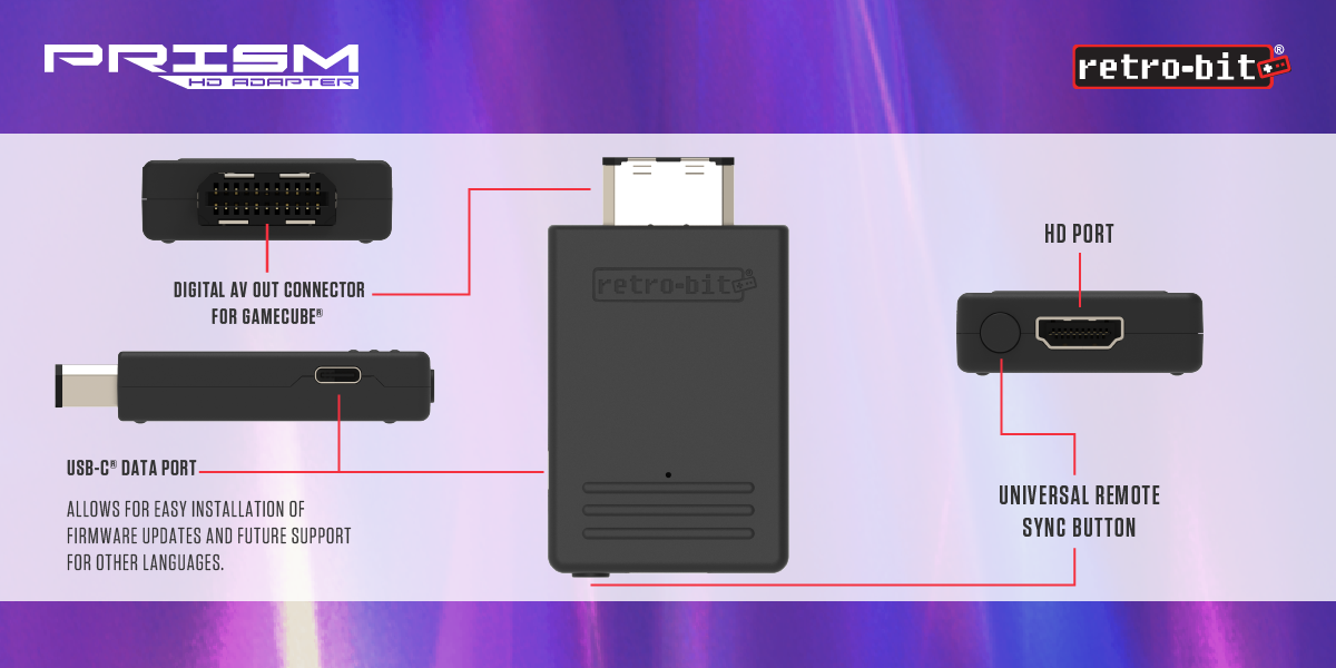 Prism HD Adapter for GCN - Showcase