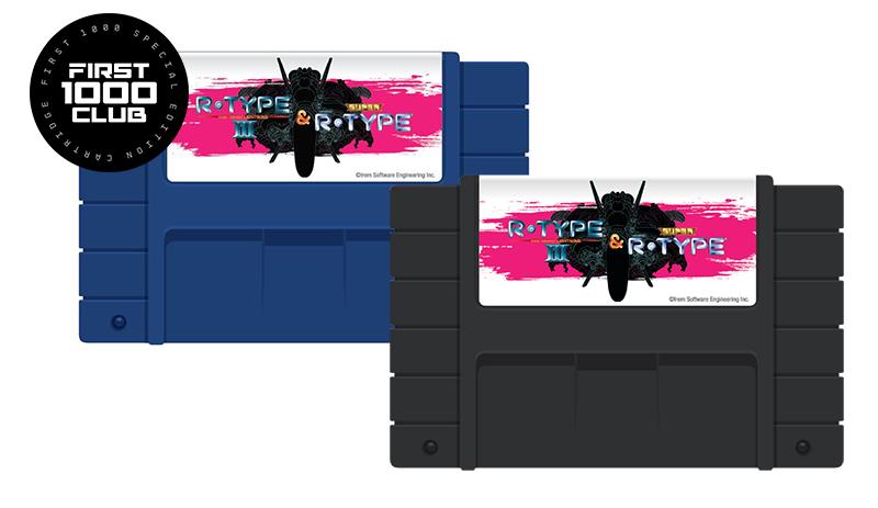 R-Type 16-Bit Cartridge