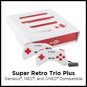 Super Retro Trio Plus - Instruction Manual