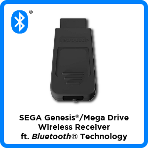 SEGA, Genesis, Mega Drive, Bluetooth, wireless, receiver, firmware, update