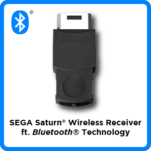 SEGA, Saturn, Bluetooth, wireless, receiver, firmware, update