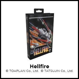 Hellfire, SEGA Genesis, SEGA Mega Drive, Toaplan, Tatsujin